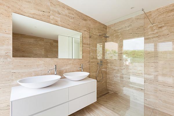 An image of a nice modern style bathroom